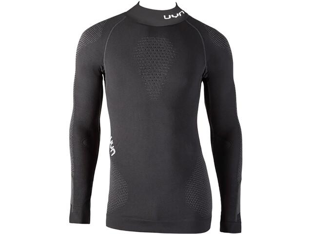 UYN M s Ambityon UW LS Turtle Neck Shirt Blackboard Black White ... f09726c6bcd13
